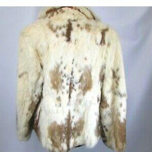 Dino Ricco France Lapin Fur Coat Large
